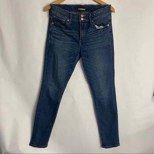 Express Stretch+ Mid Rise Cropped Jean-6
